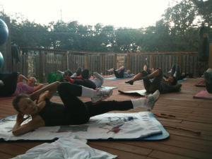 Outdoor pilates shirley yelp